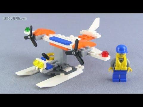 LEGO City Coast Guard Seaplane 30225 polybag set review!