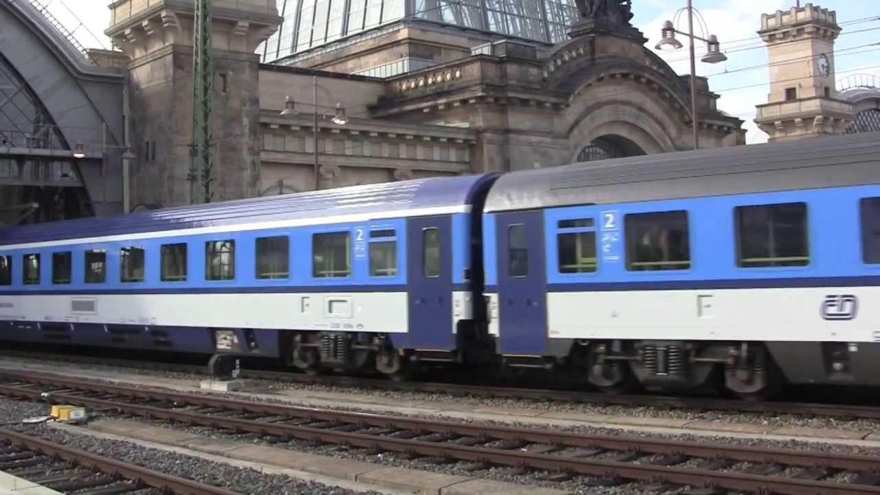 Dresden hauptbahnhof main railway station saxony for Dresden to prague train