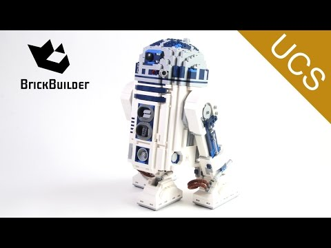 Lego Ultimate Collector Series 10225 R2-D2 - Lego Speed Build