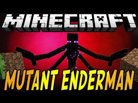 Minecraft Mod Spotlight: MUTANT ENDERMAN