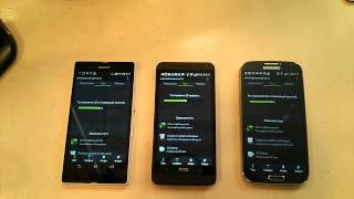 Feel The Android #6 Битва Титанов. HTC ONE vs SONY XPERIA Z vs GALAXY S4 #6
