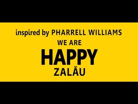 Pharrell Williams Happy - We are HAPPY in ZALAU  Romania