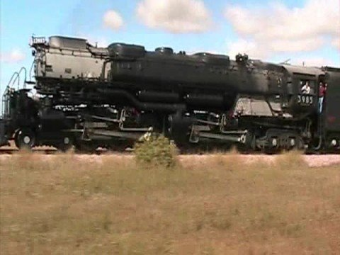 Sibley Iowa's  BEST OLD STEAM LOCOMOTIVE VIDEO 2008 PART 1