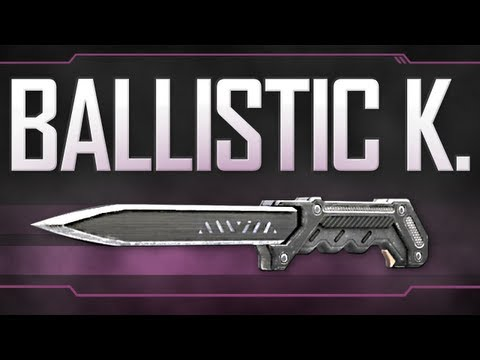 Ballistic Knife Black Ops How to Ballistic Knife Black Ops