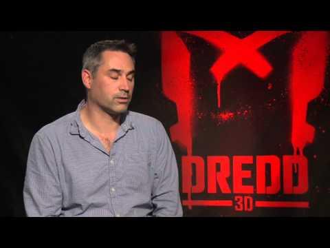 Alex Garland 'Dredd' Interview!! [HD]