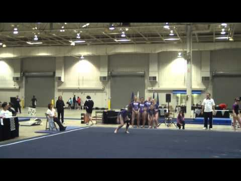 Ryann Conners IGI 2012 Region 5 Championships 11th all-around