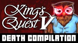 KINGS QUEST V   Death Compilation