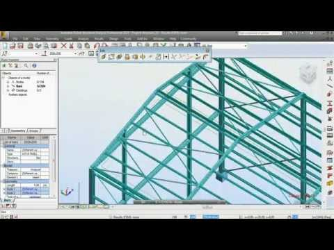 Robot Structural Analysis 2014 tutorial part 1