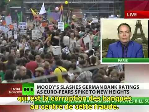 """Max Keiser sur RT - """"Société Générale, INSOLVABLE. BNP, INSOLVABLE. Deutsch Bank, INSOLVABLE."""""""