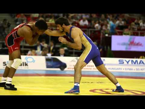 Budapest 2013 World Freestyle Wrestling Championship 60kg Image 1