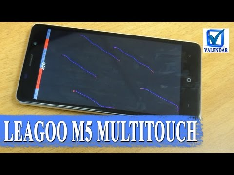 Leagoo M5 - мультитач тест экрана и настройка шторки