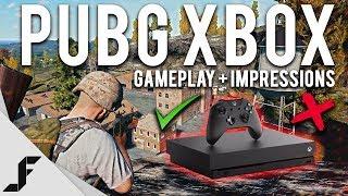 PUBG XBOX ONE X GAMEPLAY + First Impressions