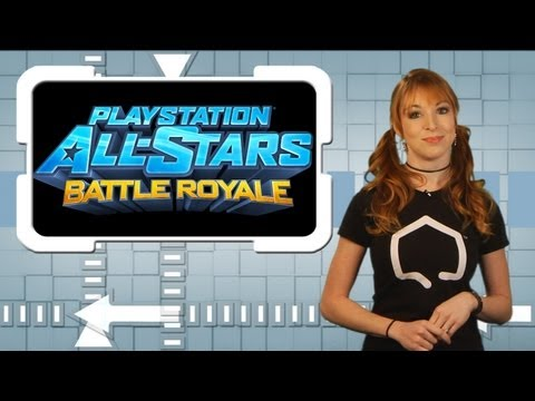 PlayStation All-Stars Battle Royale Review w/ Lisa Foiles  - The Good. the Bad. & the Rating - TGS