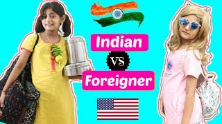 Indian vs Foreigner ...   #Travel #Roleplay #Sketch #Fun #ShrutiArjunAnand #MyMissAnand