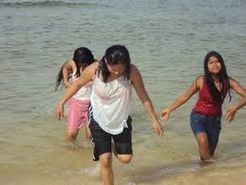 Hot Indian village aunts enjoying Sun Bath in digha sea ...