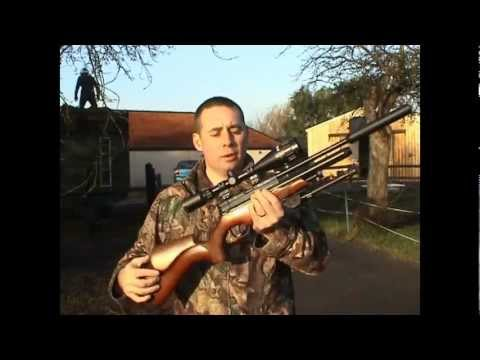 Wood pigeon and rabbits with a air rifle