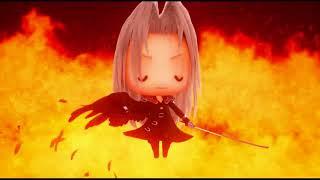 World of Final Fantasy: (Часть 5) Ледяная пещера, чучело в пластмассовой маске, суета в доках
