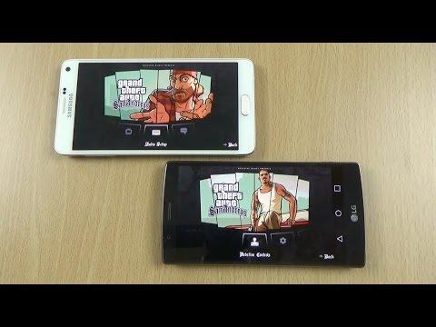 LG G4 VS Note 4 Gaming Review - GTA San Andreas
