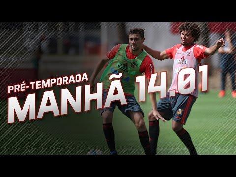 Pré-temporada | Treino da manhã (14/01/2017)