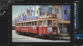 Gimp 2.10: How to Create a Retro Grainy Film Effect