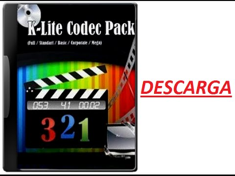 Descargar K-Lite Codec Pack Full 2015