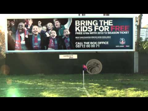 http://www.cpfc.co.uk/page/TicketsHome With a vibrant atmosphere around the club we've had a bit of fun with our latest video, while remaining South London & Proud. Faithless is our backing...