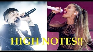 Download Lagu Male Singers Hitting Female Singers HIGH NOTES!! Gratis STAFABAND