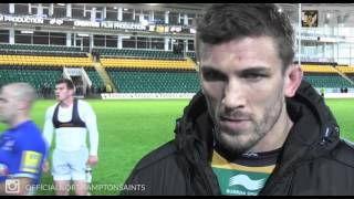 Christian Day reaction on Northampton's loss to Saracens | Rugby Video Highlights