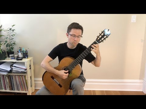 Fernando Sor - Op. 60 - No 6 (study In A Minor)