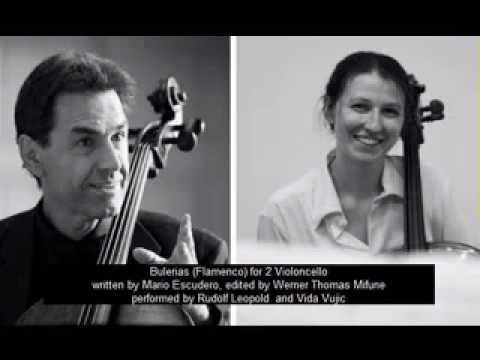 Mario Escudero: Bulerias (Flamenco) for 2 Violoncello