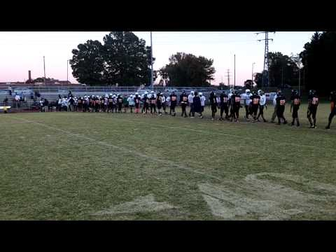 Aycock-Kiser Middle School Football at Page HS in Greensboro, N.C.