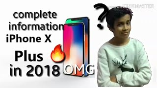 Apple iPhone X Plus Release Date, First Look, Phone Specifications, Price, Concept, Trailer 2018!!!