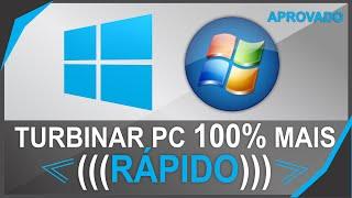 COMO DEIXAR SEU PC (COMPUTADOR) 100% MAIS RÁPIDO / COM MUITO MAIS PERFORMACE