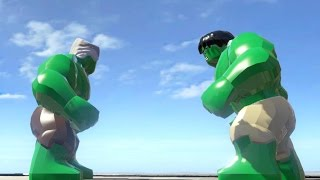 STAN LEE VS HULK (BATTLE) - LEGO Marvel Super heroes