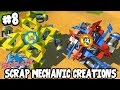 Scrap Mechanic CREATIONS! - AMAZING BEYBLADES! [#8] W/AshDubh...
