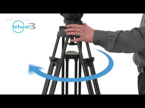 Vinten tripods - minimse springback so you shoot as you intend the shot