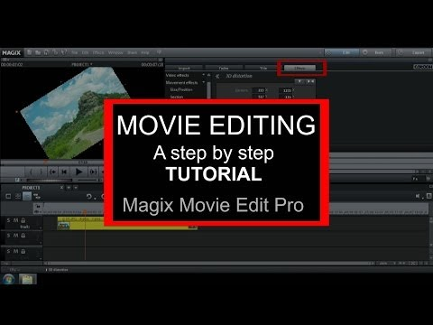 Magix Movie Edit Pro 2014 Tutorial