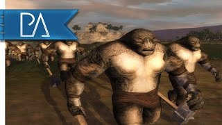 Defense of Dale's Trading Post: Gundabad Attacks - Third Age Total War Gameplay