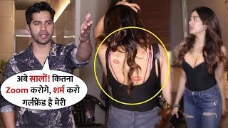 Varun Dhawan Got angry on Photographer when He Become Crazy for Taking Pictures | Come with Janhvi