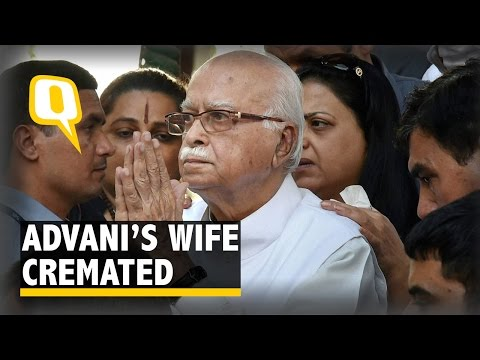 The Quint: LK Advani's Wife Kamla Advani Cremated