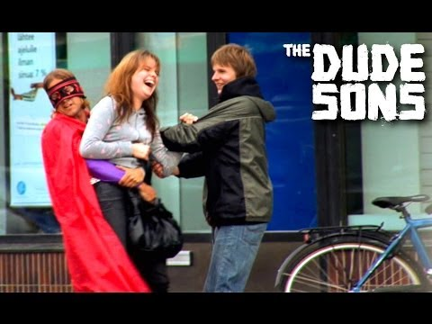 Superhero Saves Women Prank!