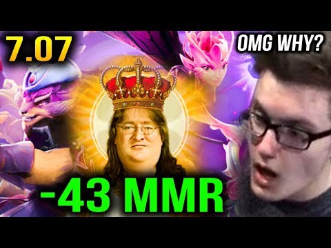 Miracle- Slark -43 MMR Not Like This 7.07b Dota 2