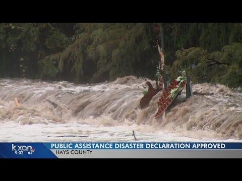 FEMA grants Gov. Abbot's assistance requests for Halloween floods