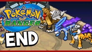 Pokemon Ranger END THE LEGENDARY BEASTS! Gameplay Walkthrough