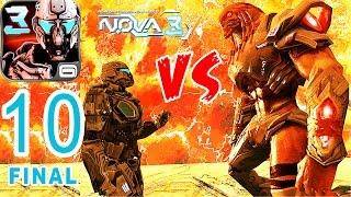 N.O.V.A 3 - iPhone Gameplay Walkthrough Mission #10 FINAL