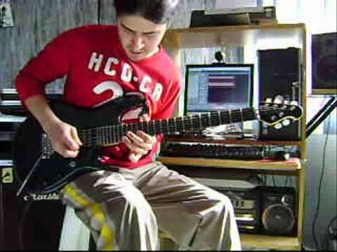 Joe Satriani Summer Song (Cover by Cesar Huesca)