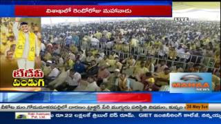 TDP Leaders speech in Mahanadu 2017   Visakhapatnam
