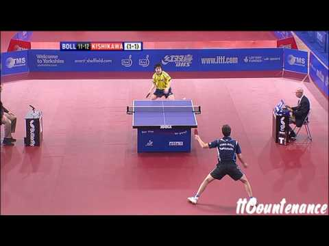 English Open: Timo Boll-Seiya Kishikawa