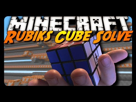 Minecraft: RUBIK'S CUBE SOLVED! (Sethbling's Creation)