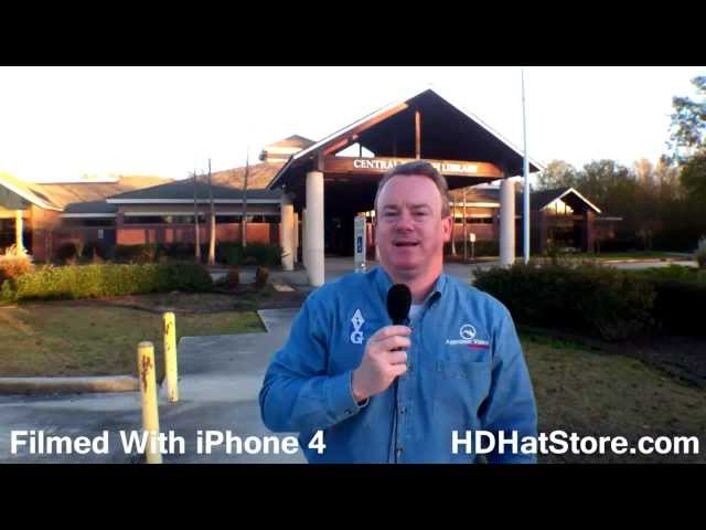 HDHat iHat4 Review - Apple iPhone 4 4S Super Wide Angle Lens Case with tripod mounts